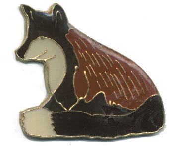 12 Pins - FOX , hat tac lapel pin #89 Bonanza