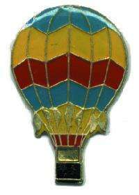 12 Pins - HOT AIR BALLOON , balloons hat lapel pin #690