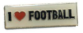 12 Pins - I LOVE FOOTBALL , sports hat lapel pin #4701 - $9.00