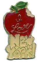 12 Pins - I LOVE NEW YORK , city apple lapel pin #561 - $9.00