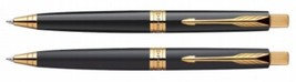 Parker Premium ASTER Gold Trim Ball Point Pen Choose from 2 Variants - $15.03+