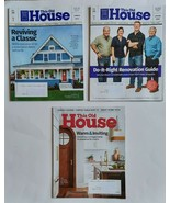3 Lot This Old House Magazine NEW 2021 Home Building Bathroom Garden Pro... - $16.99