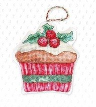 Counted Cross Stitch Hand Embroidery Kit Christmas Muffin - $10.14