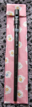 Pink Flowers Tinwhistle Case/Fully Lined/Hanging Loop D - $11.60