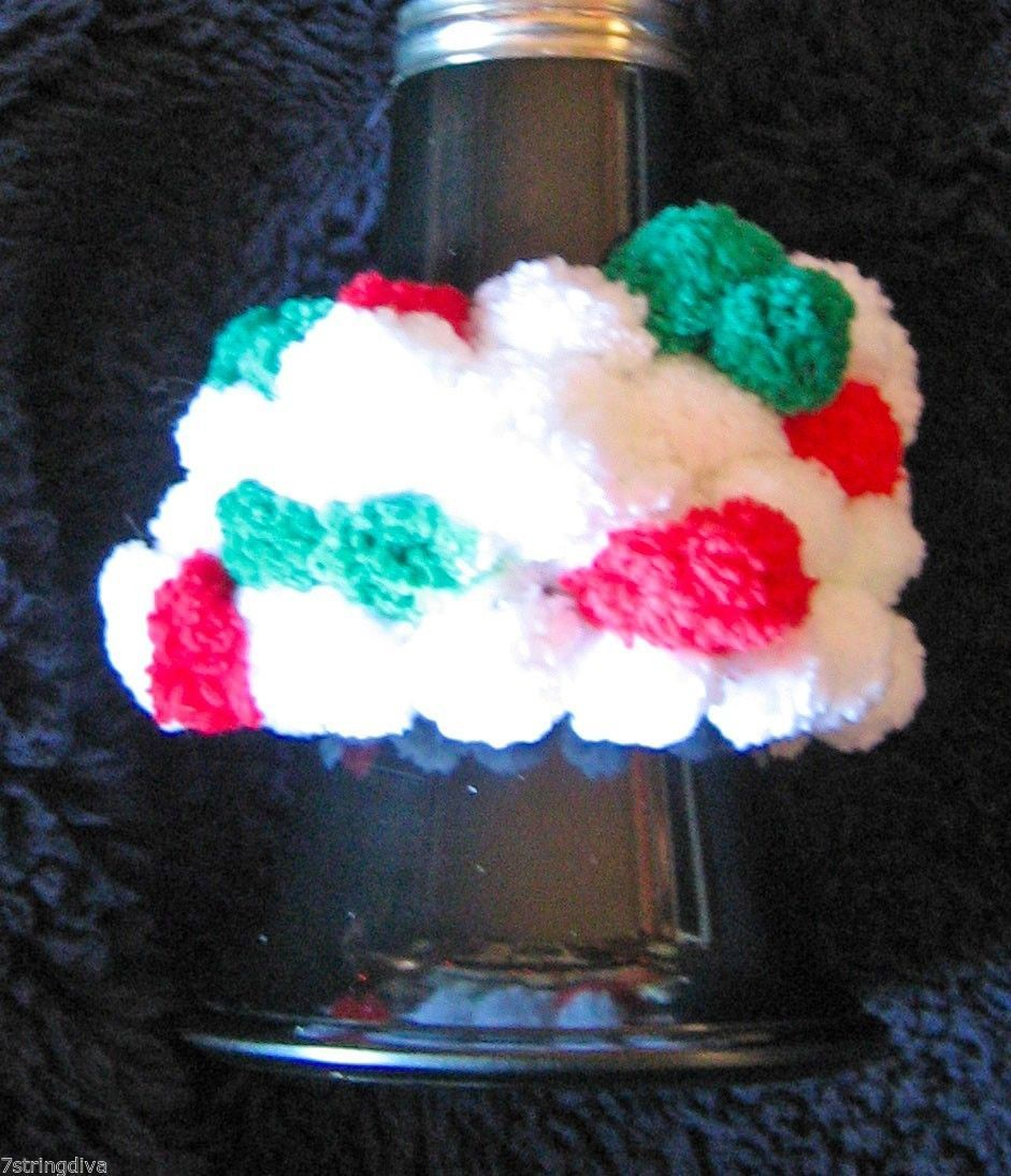 Clarinet Accessory/Bell Bottom/Red/White/Green PomPons