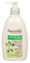 Aveeno Positively Radiant Body Lotion 12 Ounce Pump  - $12.43