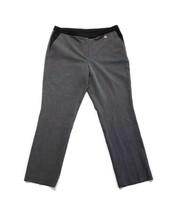Anne Klein Women's Size 10 Gray Dress Pants Trousers Slacks Career Ankle - $17.98