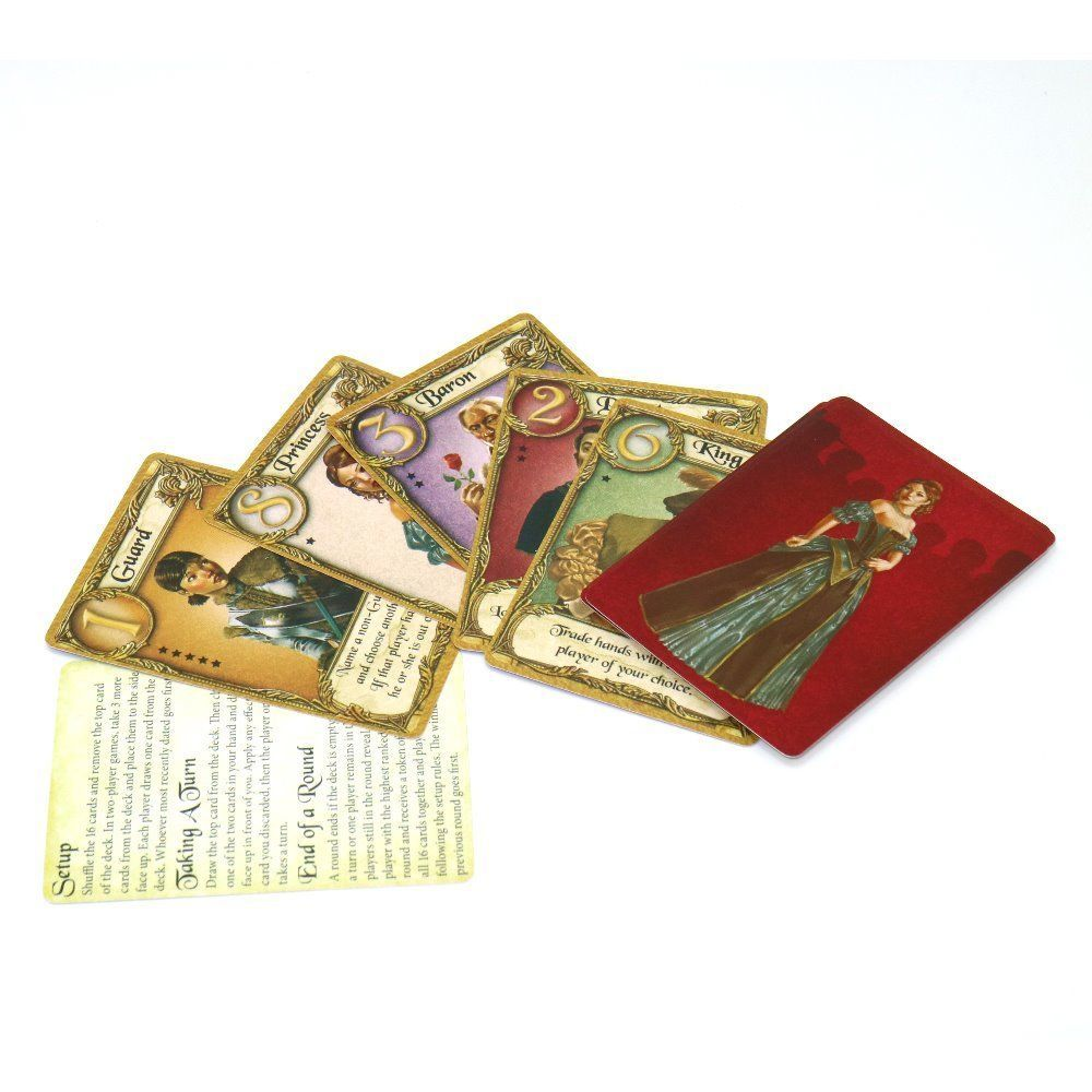 English Love Letter Board Game Best 2 To 4 Player Playing Cards image 3