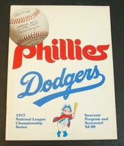 1977 National League Championship Series LA Dodgers Philadelphia Phillies - $14.85