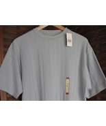 Mens Short Sleeve Shirt Small S Light Blue Hagg... - $5.00
