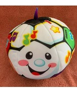 Fisher-Price Laugh & Learn Singin' Soccer Ball Baby Plush Toy Talking Mu... - $11.87