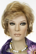 Hillary 14/26 Blonde Medium Lace Front Jon Renau Straight Wigs - $158.88