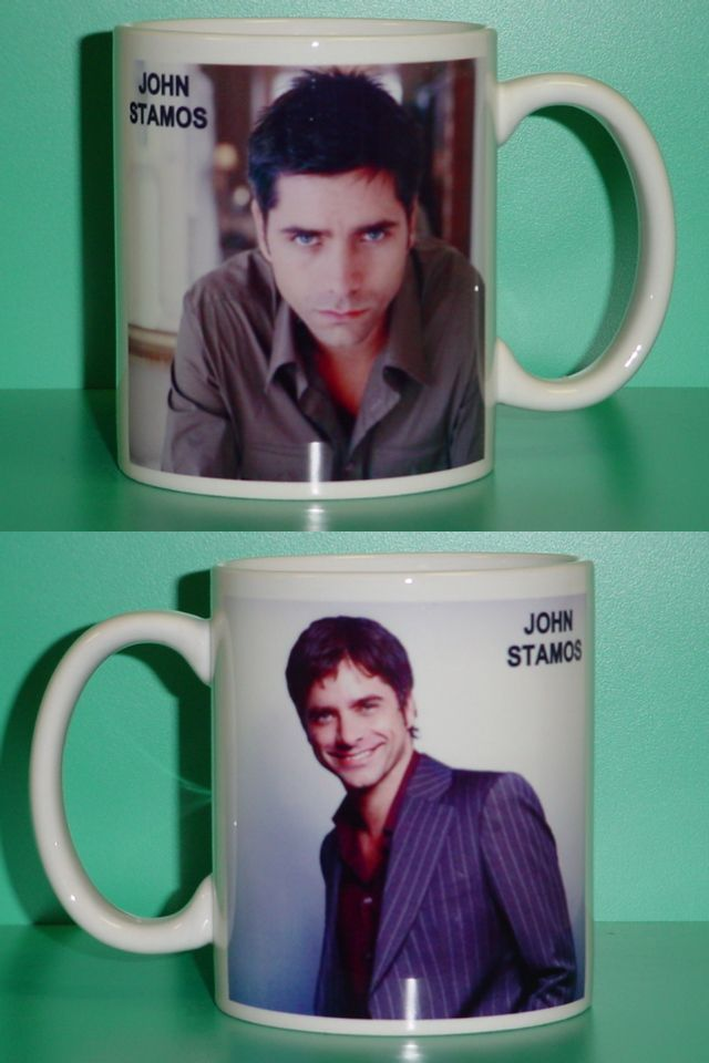 John Stamos 2 Photo Designer Collectible Mug 01