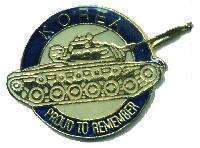 12 Pins - KOREA , korean war veteran tank pin #4743