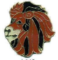 12 Pins - LION , hat tac lapel pin #1643