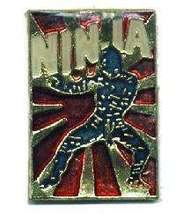 12 Pins - NINJA WARRIOR , martial hat lapel pin #1557 - $9.00