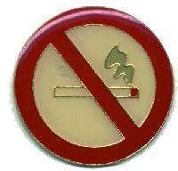 12 Pins - NO SMOKING , hat tac lapel pin #1816