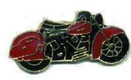 12 Pins - Red & Black Motorcycle , hat lapel pin #1617 - $9.00