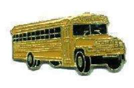 12 Pins - SCHOOL BUS , driver teacher lapel pin #4563 - $9.00
