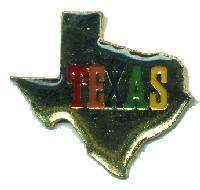 12 Pins - STATE OF TEXAS , hat tac lapel pin #4691