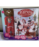 """My Life As RUDOLPH ADVENT CALENDAR Reindeer Outfit For 18"""" Doll CHRISTMAS 32pcs - $41.99"""