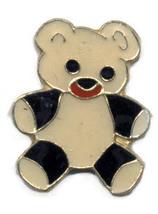 12 Pins - TEDDY BEAR , hat tac lapel pin #234 - $9.00