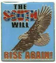 12 Pins - The South Will Rise Again , Eagle Pin #4890 - $9.00