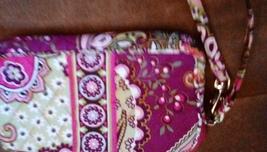 Vera Bradley Very Berry Paisley Wristlet EUC - $20.00