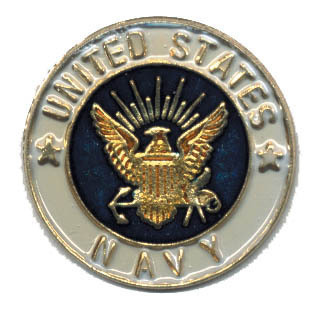 12 Pins - UNITED STATES NAVY , us round lapel pin #1946