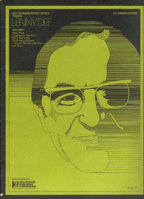 Lenny Dee, All Organ Edition, Volume 1,  1977