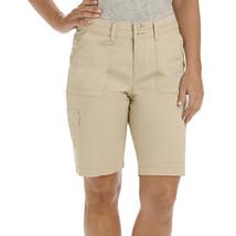 Lee Avey Cargo Bermuda Shorts Size 14M New Msrp $44.00 Cafe - $19.99