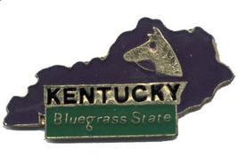 12 State Pins - KENTUCKY , states hat lapel pin #199 - $9.00