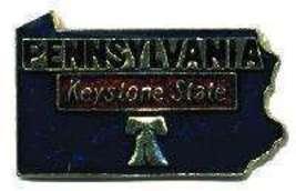 12 State Pins - PENNSYLVANIA , hat lapel pin #4589 - $9.00