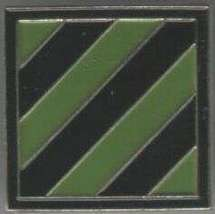 12 Pins - 3rd ARMY , third military hat lapel pin sp404 - $18.00