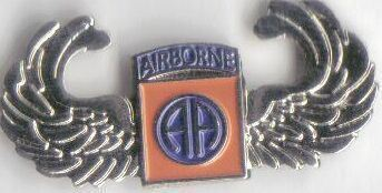 12 Pins - 82ND AIRBORNE w/ WINGS , hat lapel pin sp460 Bonanza