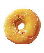 Donut Plush Stuffed Throw Pillow Lovely 3D Decorative pillow - £23.56 GBP