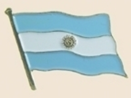 12 Pins - ARGENTINA , flag hat lapel badge pin sp187 - $18.00