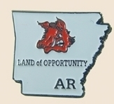 12 Pins - ARKANSAS , state hat tac lapel pin sp328 Bonanza