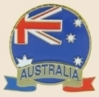 12 Pins - AUSTRALIA EMBLEM , flag hat lapel pin sp056 Bonanza