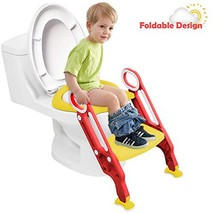 Potty Training Seat for Kids, Adjustable Toddler Toilet Potty Chair Step Potty L