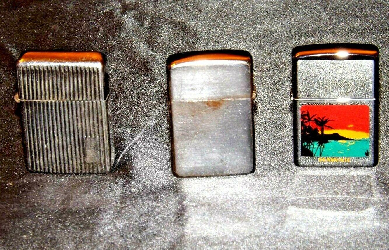 Three Vintage Lighters AA19-1675