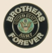 12 Pins - BROTHERS FOREVER ARMY , us lapel pin sp457
