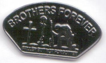 12 Pins - BROTHERS FOREVER FALLEN NOT FORGOTTEN pin 476 Bonanza