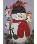 SAMMY SNOWFLAKES Christmas Ornaments & Door Decororation Pattern - $8.00