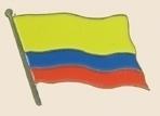 12 Pins - COLOMBIA , flag hat lapel badge pin sp200 Bonanza