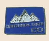 12 Pins - COLORADO , state hat tac lapel pin sp330