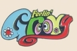 12 Pins - FEELING GROOVY , colorful hat lapel pin sp161 - $18.00