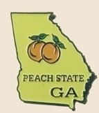 12 Pins - GEORGIA , state hat tac lapel pin sp334 Bonanza