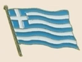 12 Pins - GREECE , flag hat lapel badge pin sp216 - $18.00