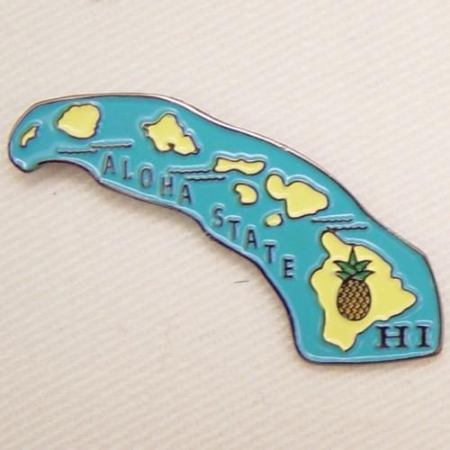 12 Pins - HAWAII , state hat tac lapel pin sp335